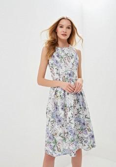 Платье, Tutto Bene, цвет: голубой. Артикул: TU009EWEXNW4.
