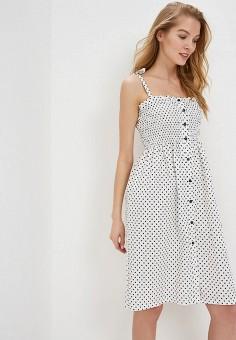 Платье, Tutto Bene, цвет: белый. Артикул: TU009EWFBYK9.