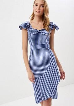 Платье, Tutto Bene, цвет: синий. Артикул: TU009EWFBYL2.