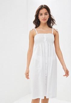 Сарафан, Tutto Bene, цвет: белый. Артикул: TU009EWFFRS4.