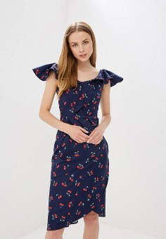 Платье, Tutto Bene, цвет: синий. Артикул: TU009EWFLKP6.