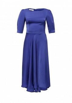 Платье, Tutto Bene, цвет: синий. Артикул: TU009EWIWF77.