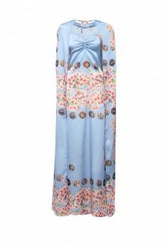Платье, Tutto Bene, цвет: голубой. Артикул: TU009EWIWQ58.