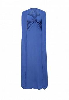 Платье, Tutto Bene, цвет: синий. Артикул: TU009EWIWQ60.