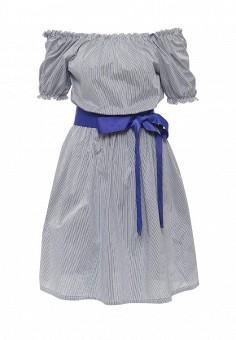 Платье, Tutto Bene, цвет: голубой. Артикул: TU009EWQJQ51.