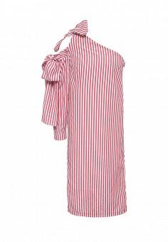 Платье, Tutto Bene, цвет: красный. Артикул: TU009EWRXQ31.