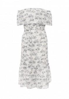 Платье, Tutto Bene, цвет: белый. Артикул: TU009EWRXQ41.