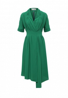 Платье, Tutto Bene, цвет: зеленый. Артикул: TU009EWTCT80.