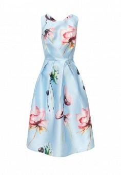 Платье, Tutto Bene, цвет: голубой. Артикул: TU009EWTCT85.
