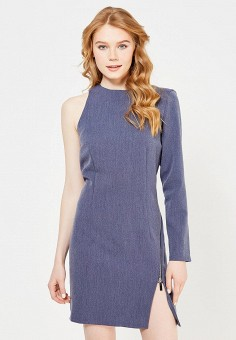 Платье, Tutto Bene, цвет: синий. Артикул: TU009EWTKZ69.