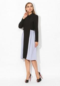 Платье, Tutto Bene, цвет: черный. Артикул: TU009EWVZO47.