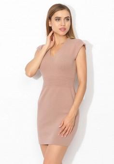 Платье, Tutto Bene, цвет: бежевый. Артикул: TU009EWWXJ59.