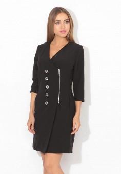 Платье, Tutto Bene, цвет: черный. Артикул: TU009EWXFM79.
