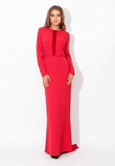 Платье, Tutto Bene, цвет: красный. Артикул: TU009EWZCD52.