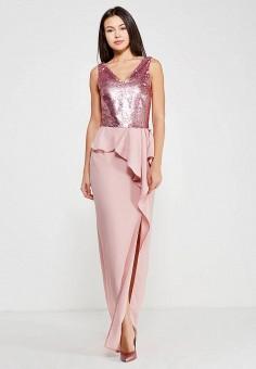 Платье, Tutto Bene, цвет: розовый. Артикул: TU009EWZOM40.
