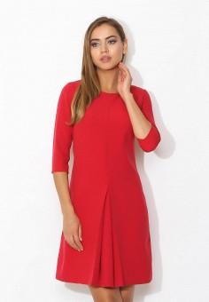 Платье, Tutto Bene, цвет: красный. Артикул: TU009EWZWM67.