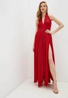 Платье, Twinset Milano, цвет: красный. Артикул: TW008EWHJTV1. Одежда / Платья и сарафаны / Вечерние платья