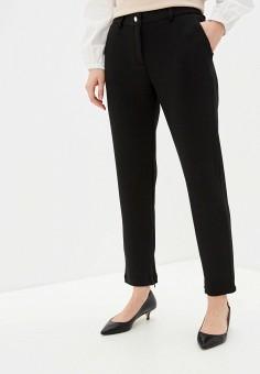 Брюки, Twinset Milano, цвет: черный. Артикул: TW008EWHJVQ1. Одежда / Брюки / Классические брюки