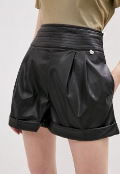 Шорты, Twinset Milano, цвет: черный. Артикул: TW008EWKHLZ3. Одежда / Шорты