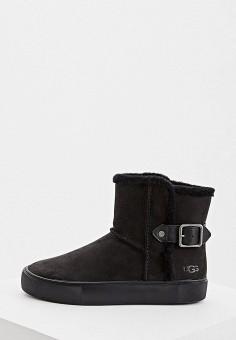 Угги, UGG, цвет: черный. Артикул: UG002AWFQNB5. Обувь / Сапоги / Угги и унты