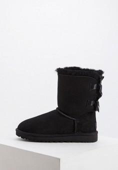 Угги, UGG, цвет: черный. Артикул: UG002AWFQNE4. Обувь / Сапоги / Угги и унты