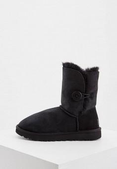 Угги, UGG, цвет: черный. Артикул: UG002AWFQNE5. Обувь / Сапоги / Угги и унты