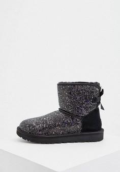 Угги, UGG, цвет: черный. Артикул: UG002AWFQNQ5. Обувь / Сапоги / Угги и унты