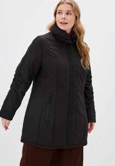 Куртка утепленная, Ulla Popken, цвет: черный. Артикул: UL002EWGFWD7. Одежда / Верхняя одежда / Демисезонные куртки