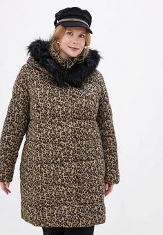 Куртка утепленная, Ulla Popken, цвет: коричневый. Артикул: UL002EWGFWD8. Одежда / Верхняя одежда / Демисезонные куртки