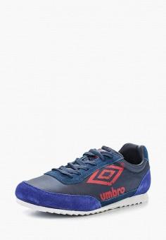 Кроссовки, Umbro, цвет: синий. Артикул: UM463AMFKC35. Обувь / Кроссовки и кеды / Кроссовки / Низкие кроссовки