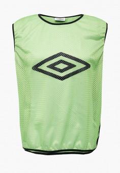 Майка спортивная, Umbro, цвет: зеленый. Артикул: UM463DUYGJ52. Одежда / Майки