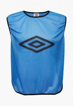 Майка спортивная, Umbro, цвет: синий. Артикул: UM463DUYGJ53. Одежда / Майки