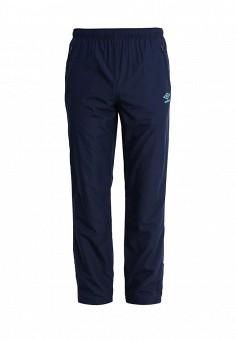 Брюки спортивные, Umbro, цвет: синий. Артикул: UM463EMICW38. Одежда / Брюки / Спортивные брюки