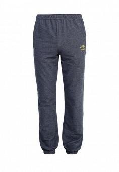 Брюки спортивные, Umbro, цвет: синий. Артикул: UM463EMICW41. Одежда / Брюки / Спортивные брюки