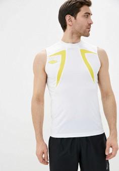 Майка спортивная, Umbro, цвет: белый. Артикул: UM463EMISUS5. Одежда / Майки