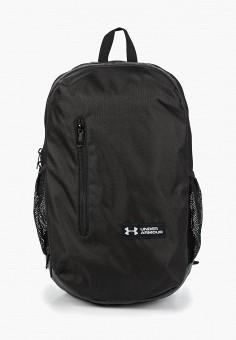 Рюкзак, Under Armour, цвет: черный. Артикул: UN001BUDUIQ5. Аксессуары / Рюкзаки