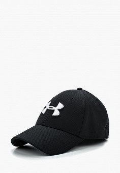 Бейсболка, Under Armour, цвет: черный. Артикул: UN001CMABNR5. Аксессуары / Головные уборы