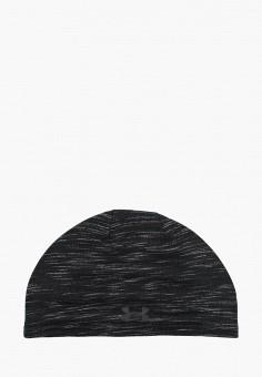 Шапка, Under Armour, цвет: черный. Артикул: UN001CMBVBI5. Аксессуары / Головные уборы / Шапки