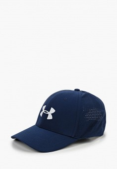 Бейсболка, Under Armour, цвет: синий. Артикул: UN001CMHZGU9. Аксессуары / Головные уборы