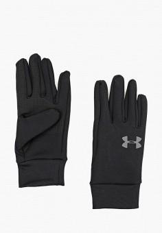 Перчатки, Under Armour, цвет: черный. Артикул: UN001DMBVBF5. Аксессуары / Перчатки и варежки