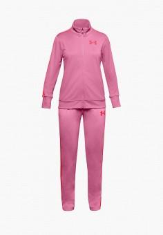 Костюм спортивный, Under Armour, цвет: розовый. Артикул: UN001EGHZPJ4.