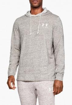 Худи, Under Armour, цвет: серый. Артикул: UN001EMDURA4. Одежда / Толстовки и олимпийки / Худи