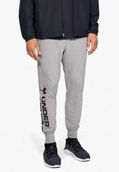 Брюки спортивные, Under Armour, цвет: серый. Артикул: UN001EMFRPI0. Одежда / Брюки / Спортивные брюки