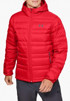 Пуховик, Under Armour, цвет: красный. Артикул: UN001EMFRRE5. Одежда / Верхняя одежда / Пуховики и зимние куртки