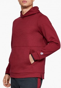 Худи, Under Armour, цвет: бордовый. Артикул: UN001EMHFUW0. Одежда / Толстовки и олимпийки / Худи