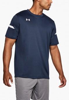 Футболка спортивная, Under Armour, цвет: синий. Артикул: UN001EMHZIG9. Одежда / Футболки и поло