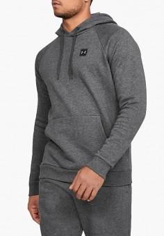 Худи, Under Armour, цвет: серый. Артикул: UN001EMHZIN9. Одежда / Толстовки и олимпийки / Худи