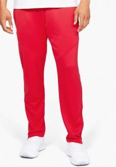 Брюки спортивные, Under Armour, цвет: красный. Артикул: UN001EMIRAX4. Одежда / Брюки / Спортивные брюки