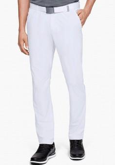 Брюки, Under Armour, цвет: белый. Артикул: UN001EMIRAZ1. Одежда / Брюки / Повседневные брюки