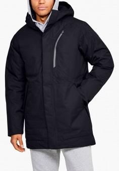 Пуховик, Under Armour, цвет: черный. Артикул: UN001EMJSUT5. Одежда / Верхняя одежда / Пуховики и зимние куртки